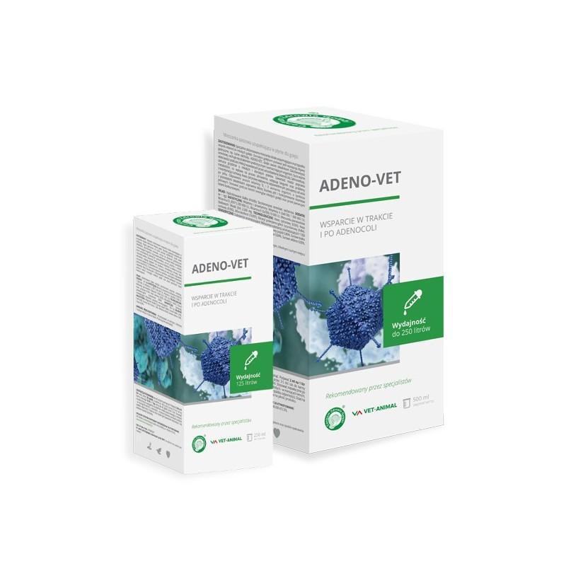 ADENO-VET – wsparcie w trakcie i po adenocoli 250 ml.