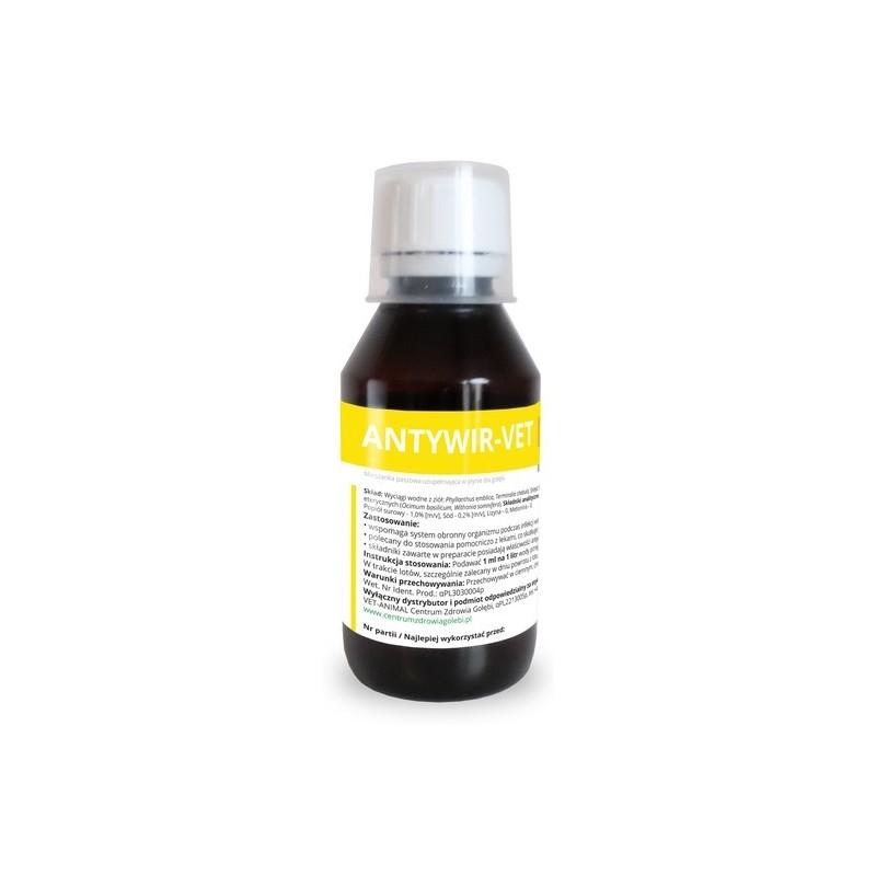ANTYWIR-VET – walka z wirusami 100 ml.