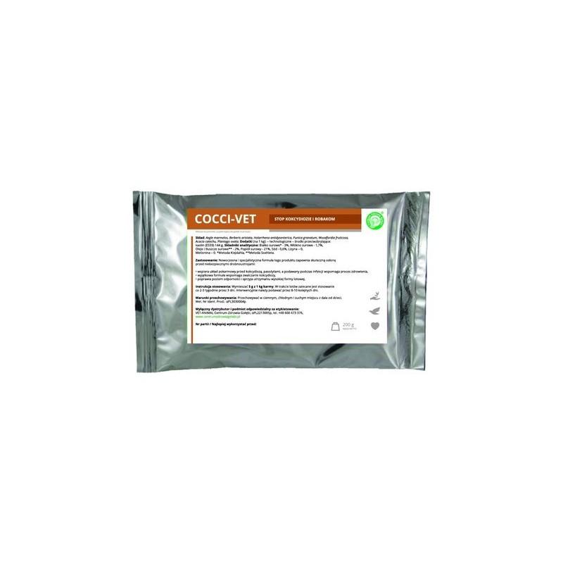 COCCI-VET – stop kokcydiozie i robakom 200 g.