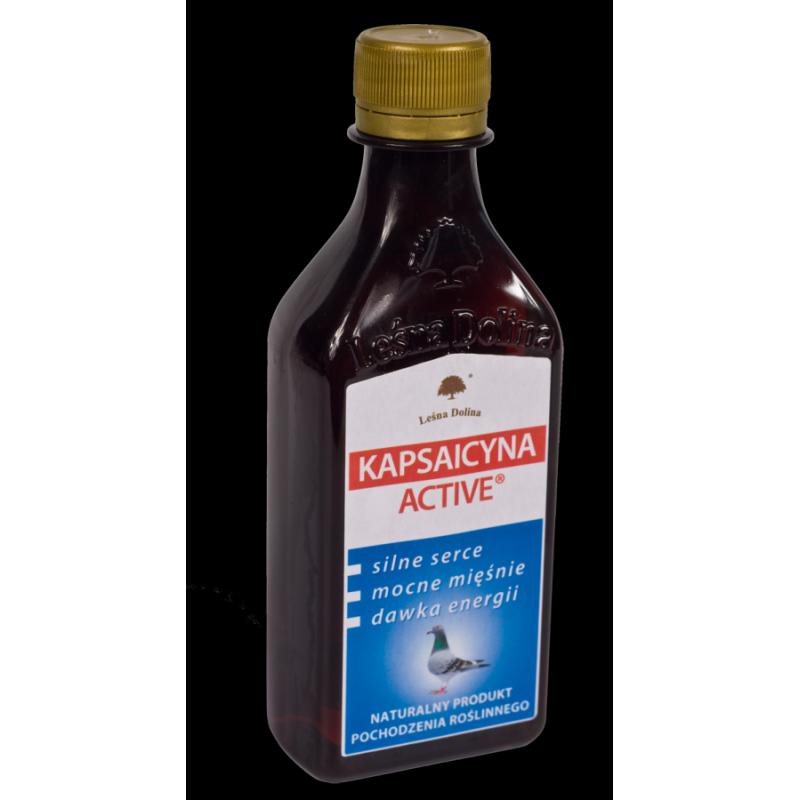 Olej z Kapsaicyną 250 ml.