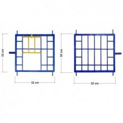 (6) Przody do cel lęgowych kompl. Plastikowe.
